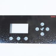 clavier tactile plastique - décor réalisé en impression numérique